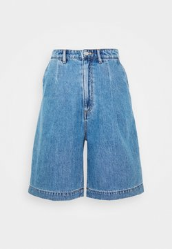 Monki - NANETTE  - Shorts vaqueros - blue medium dusty