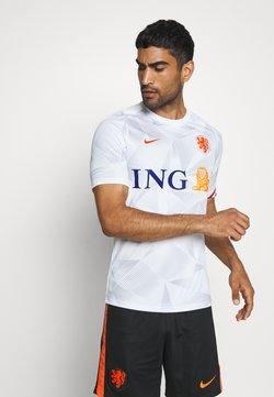Nike Performance - NIEDERLANDE KNVB - Voetbalshirt - Land - white/safety orange