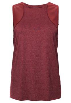 Superdry - Camiseta de deporte - claret
