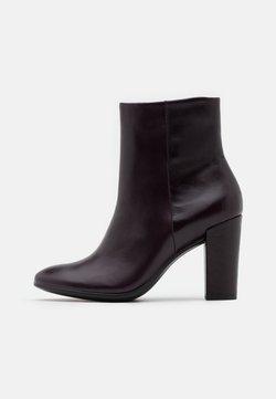 ECCO - SHAPE BLOCK - High Heel Stiefelette - fig roxy