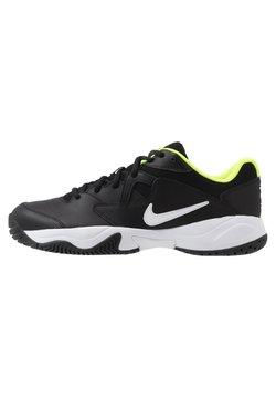 Nike Performance - COURT LITE 2 - Multicourt Tennisschuh - black/white/volt