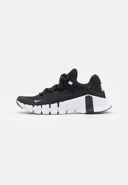 Nike Performance - FREE METCON 4 - Chaussures d'entraînement et de fitness - black/white/volt