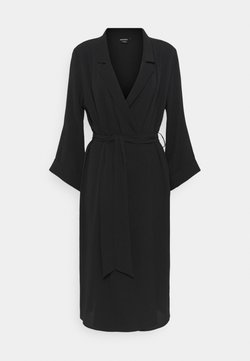 Monki - ANDIE DRESS - Sukienka letnia - black dark unique