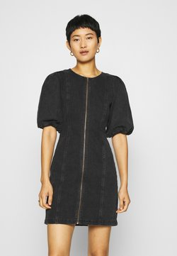 Gestuz - SOFYGZ DRESS - Spijkerjurk - washed black