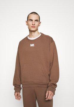 Martin Asbjørn - CROPPED CREWNECK - Sweatshirt - toffee