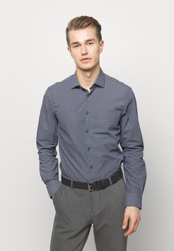 Tommy Hilfiger Tailored - DOT PRINT CLASSIC SLIM - Businesshemd - blue