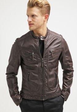 Oakwood - CASEY  - Veste en cuir - dark brown