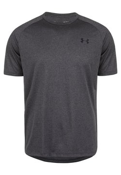 Under Armour - TECH TEE - T-Shirt basic - carbon heather