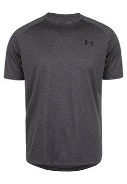 Under Armour - TECH TEE - T-Shirt basic - carbon heather