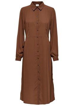 JDY - Vestido camisero - cinnamon