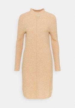 Banana Republic Tall - FUNNEL NECK SHIFT - Vestido de punto - cool beige