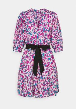 Closet - WRAP GATHERED SKIRT DRESS - Freizeitkleid - purple