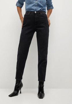 Mango - NEWMOM - Jean slim - black denim