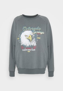 Topshop - CALIFORNIA EAGLE  - Sweatshirt - black