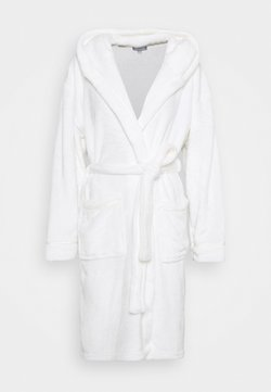 Loungeable - LUXURY HOODED ROBE  - Peignoir - white