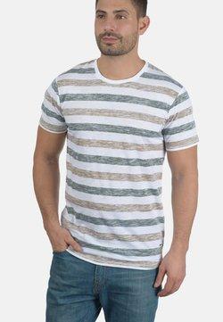 Solid - RUNDHALSSHIRT TET - T-Shirt print - brown