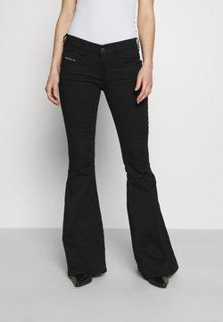 Diesel - BLESSIK  - Flared jeans - black