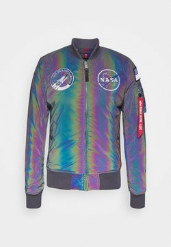 Alpha Industries - NASA RAINBOW - Bombertakki - rainbow/reflective