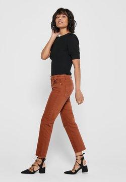 ONLY - ONLEVA - Slim fit jeans - ginger bread