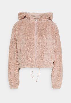 Nly by Nelly - HOODIE JACKET - Veste polaire - mauve