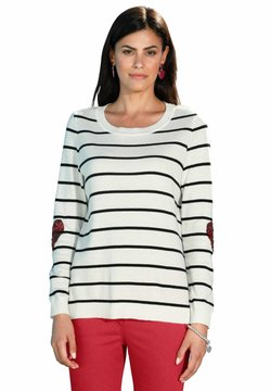 Amy Vermont - Langarmshirt - weiß rot schwarz