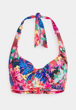 Pour Moi - HEATWAVE HALTER UNDERWIRED - Bikini-Top - multi