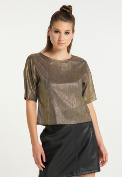 myMo at night - Bluse - schwarz gold