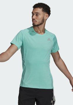 adidas Performance - RUNNER  - Camiseta estampada - green