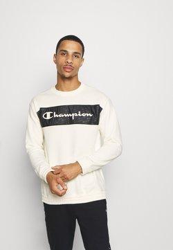 Champion - LEGACY HERITAGE TECH CREWNECK - Collegepaita - off-white/black