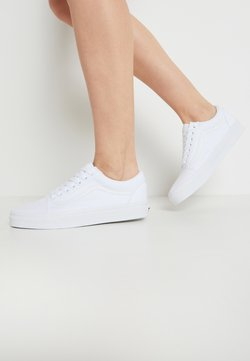 Vans - OLD SKOOL - Skateschuh - true white