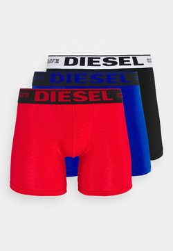 Diesel - UMBX SEBASTIAN BOXER SHORTS 3 PACK - Panties - black/red/blue