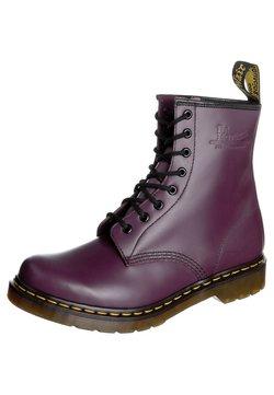 Dr. Martens - SMOOTH - Schnürstiefelette - purple