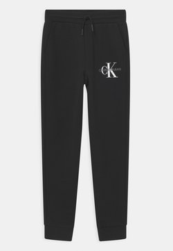 Calvin Klein Jeans - MONOGRAM LOGO  - Pantaloni sportivi - black