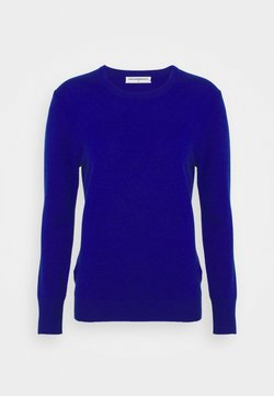 pure cashmere - CLASSIC CREW NECK  - Strickpullover - royal blue