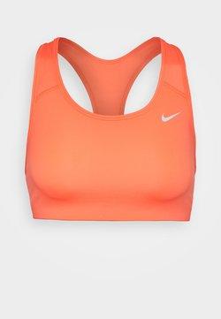 Nike Performance - NON PADDED BRA - Sport-bh met medium support - bright mango/white