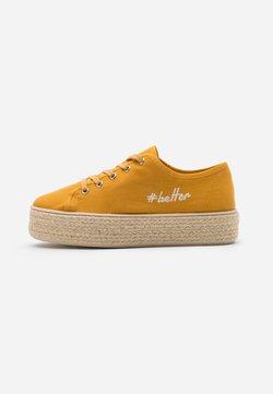 Anna Field - Espadrillot - mustard yellow