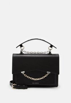 KARL LAGERFELD - SEVEN SHOULDERBAG - Torebka - black