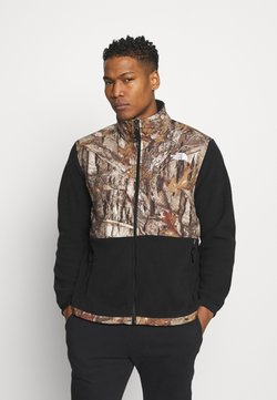 The North Face - DENALI JACKET - Fleece jacket - black/tan