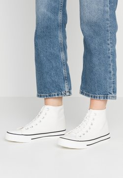 Dorothy Perkins - ICONIC TOP TRAINER - Sneakers hoog - white