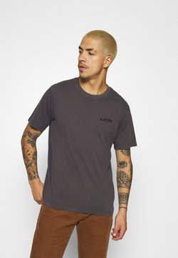 Levi's® - RELAXED FIT TEE UNISEX - Print T-shirt - anthracite/black