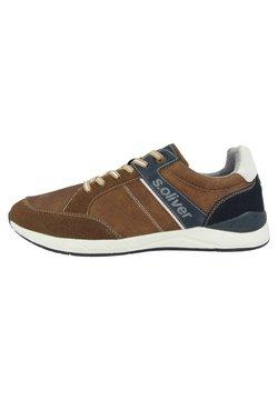 s.Oliver - Sneaker low - cognac