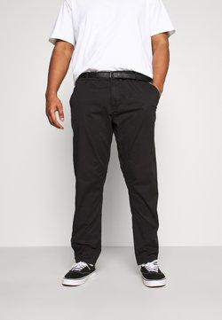 Jack´s Sportswear - STRETCH WITH BELT - Chinos - black