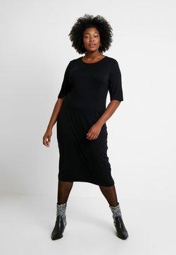 Zign Curvy - Sukienka z dżerseju - black