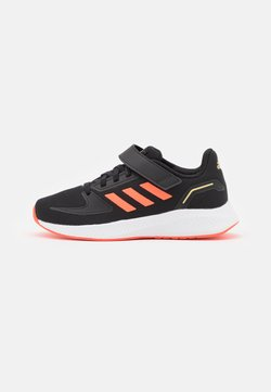 adidas Performance - RUNFALCON 2.0 UNISEX - Juoksukenkä/neutraalit - core black/solar red/footwear white