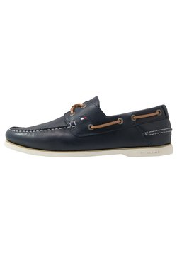 Tommy Hilfiger - CLASSIC BOATSHOE - Chaussures bateau - blue