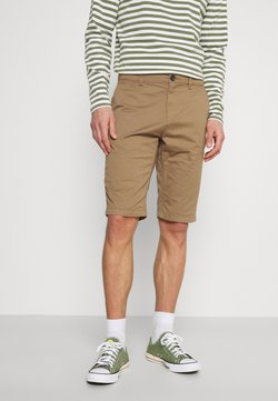 TOM TAILOR - JOSH  - Shorts - faded brown