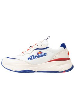 Ellesse - MASSELLO - Sneakers laag - offwhite/dark blue/red