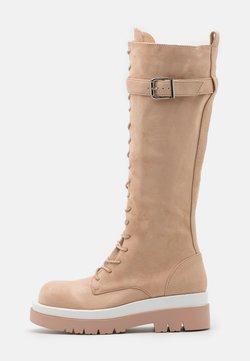 RAID - KINETIC - Platform boots - blush