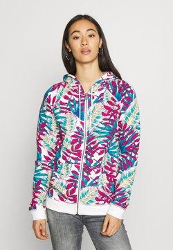 Roxy - GOING RIGHT - veste en sweat zippée - snow white paradise