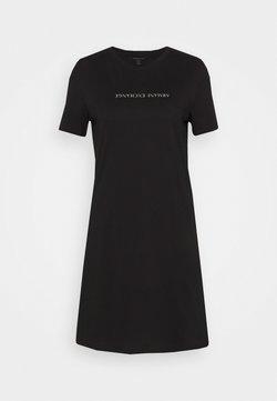 Armani Exchange - VESTITO - Vestido ligero - black